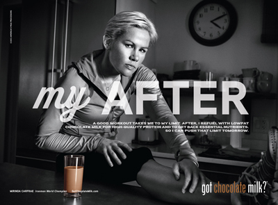 "REFUEL | ""got chocolate milk?â""¢"" campaign,"