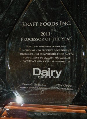 Kraft Processor of the Year award