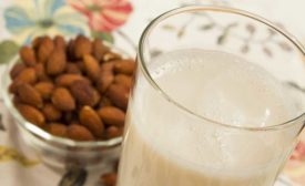 Almond milk photo by TIC Gums