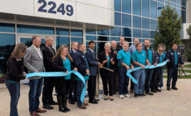 Idaho Milk Products ribbon cutting