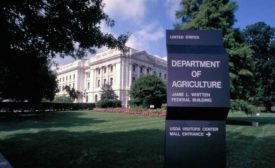 USDA headquarters building in Washington DC