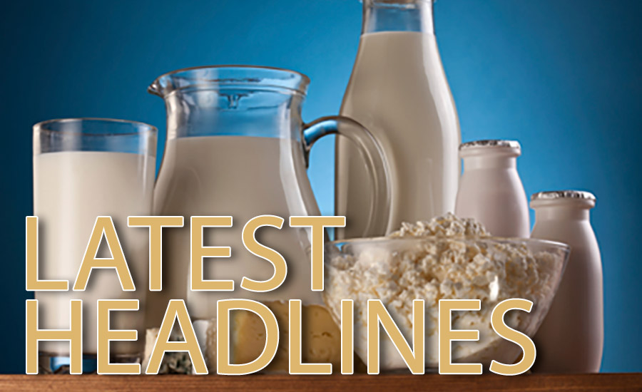 Dairy news latest headlines