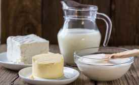 Milk butter cheese photo courtesy of Edlong Dairy Technologies