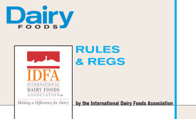dairy foods idfa rules and regs