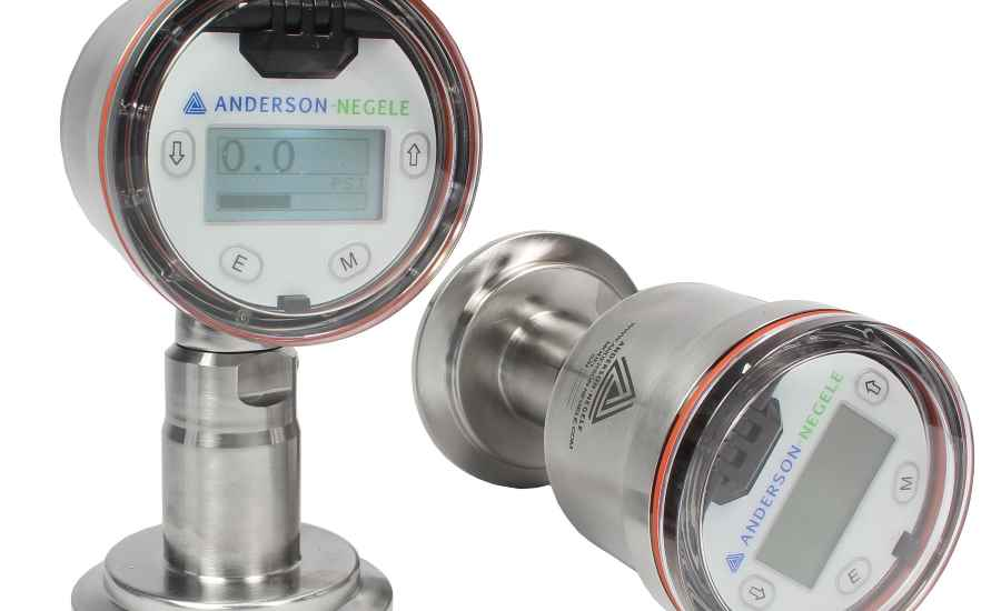 Pressure and level transmitter is suitable for hot-fill applications