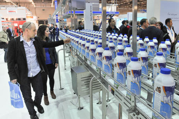 Tetra Pak stand booth Anuga Foodtec 2012 Cologne Germany