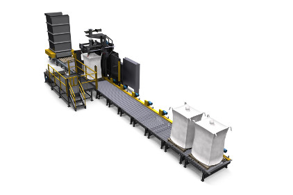 National Bulk Equipment's bulk bag filling system - feature