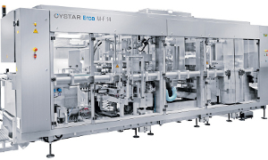 Oystar M-F 14 Cup Packaging Line
