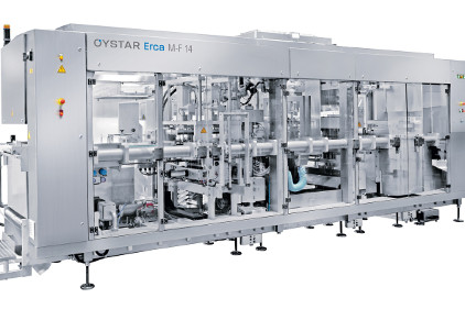 Oystar M-F 14 Cup Packaging Line - feature