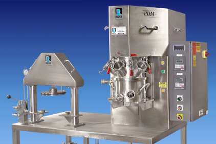 Ross Turnkey PowerMix Planetary Disperser and Discharge System - feature