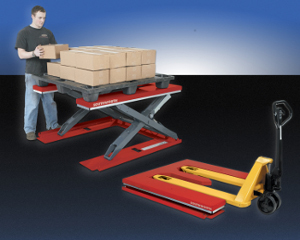 Southworth PalletPal Roll-In Level Loader