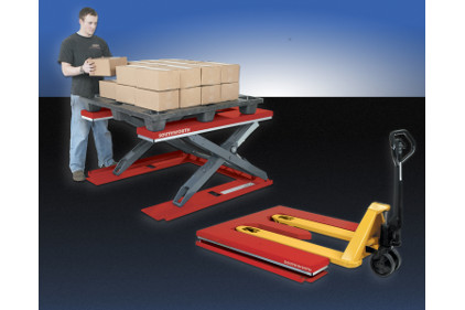 Southworth PalletPal Roll-In Level Loader- feature