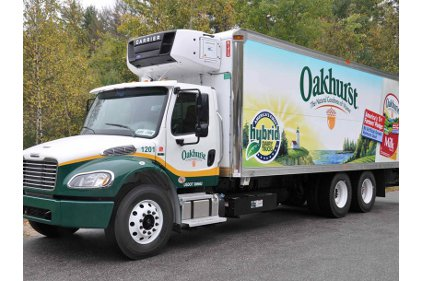 Oakhurst Dairy Hybrid trucks-feature