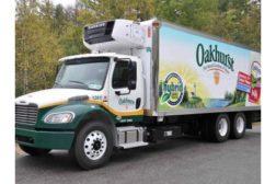 Oakhurst Dairy Hybrid truck