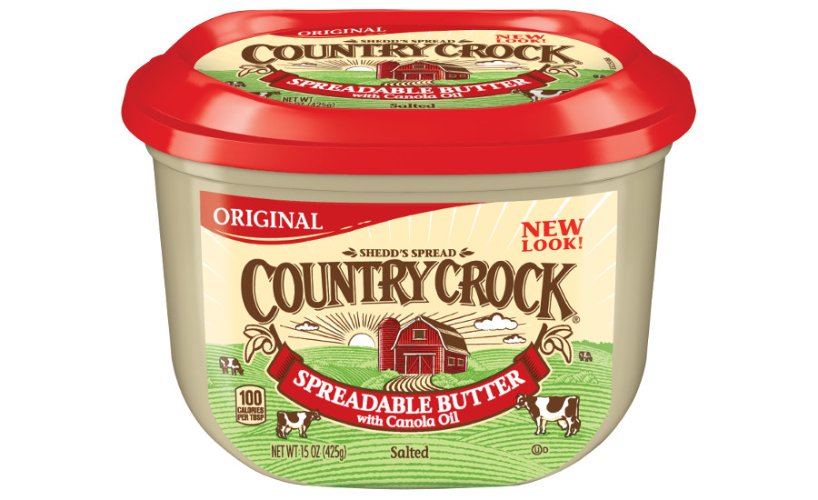Country Crock spreadable butter new packaging