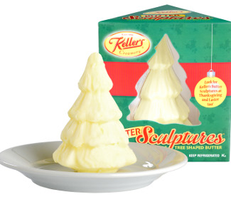 Keller's Creamery, owned by Dairy Farmers of America, is putting its butter sculptures into new, easy-to-open packaging.