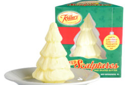Keller�s Creamery, owned by Dairy Farmers of America, is putting its butter sculptures into new, easy-to-open packaging.