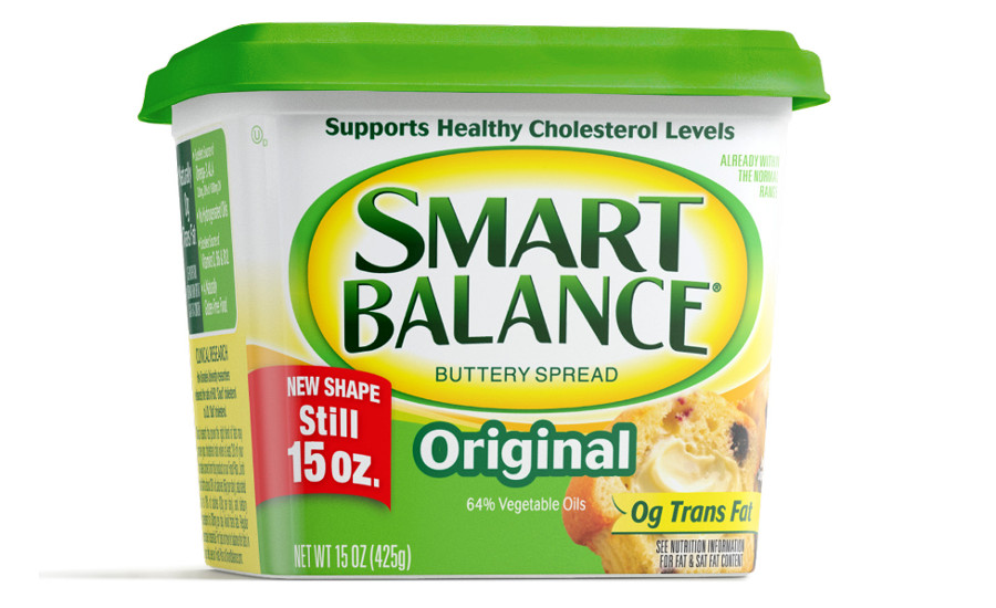 Smart Balance butter spreads in rectangle tub
