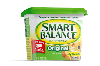 Smart Balance squar packaging - feature
