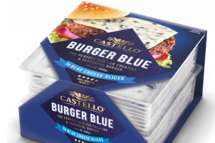 Arla Castello Burger Blue
