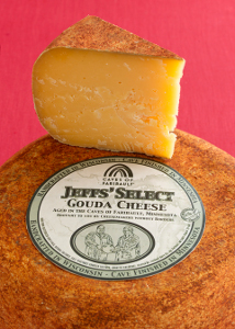 Jeffs' Select Gouda from Caves of Faribault has won the 2013 sofi™ Award