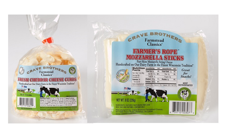 Crave Brothers new cheeses
