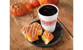 Dunkin' Donuts Pumpkin Cheesecake Squares