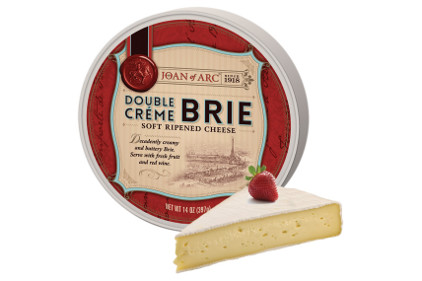 Joan of Arc specialty brie cheeses - feature