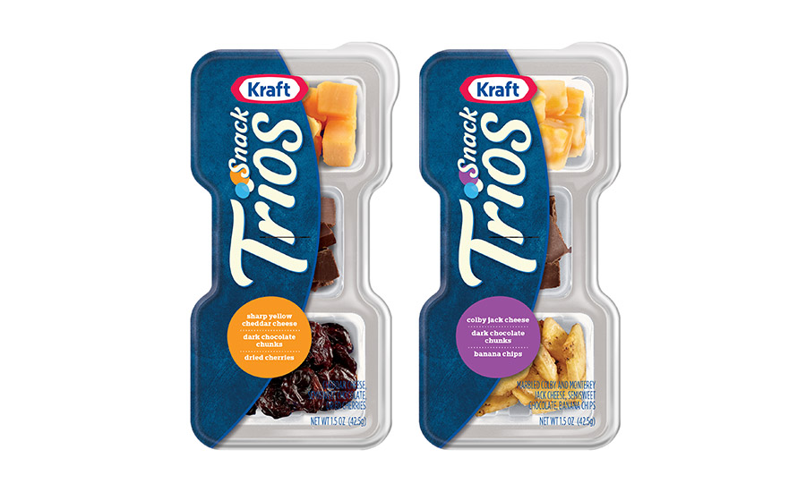 Kraft Trios cheese snack