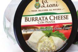 Lioni Latticini burrata cheese con panna