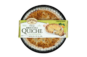 La Terra Fina Cheesy Broccoli Quiche