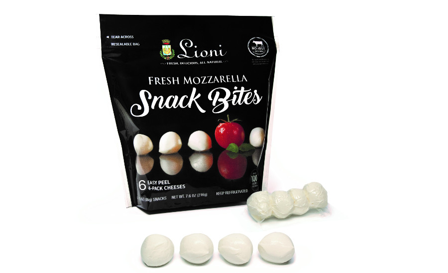 Lioni Snack Bites fresh mozzarella cheese
