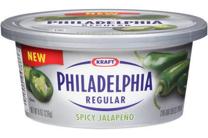 Philadelphia jalapeno cream cheese - feature