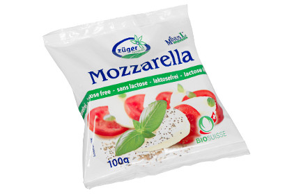 Zuger Frischkase lactose free mozzarella ball - feature