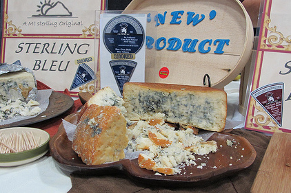 Sterling bleu cheese feature size