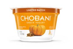 Chobani's pumpkin spice