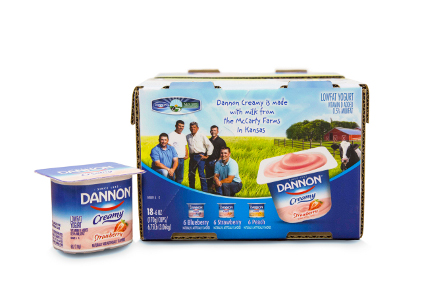 Dannon Creamy yogurt - feature