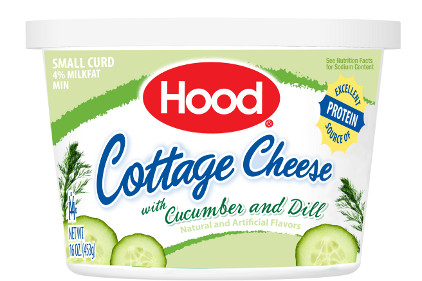 Hood Cucumber Dill cottage cheese - feature