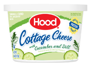 Hood Cucumber Dill cottage cheese