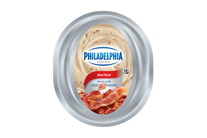 Philadelphia Cream Cheese bacon