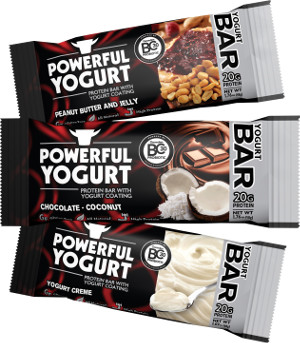 Powerful Yogurt Protein Bars