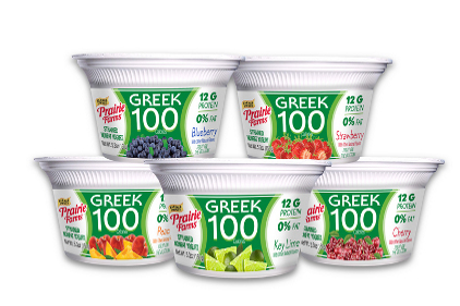 Prairie Farms 100 Cal Greek yogurt - feature