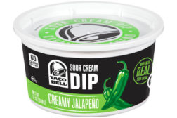 Kraft Taco Bell sour cream dips
