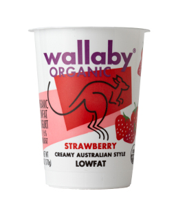 Wallaby Australian Yogurt  strawberry