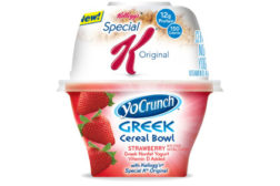 YoCrunch Cereal Bowl strawberry