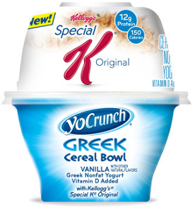 YoCrunch Cereal Bowl vanilla