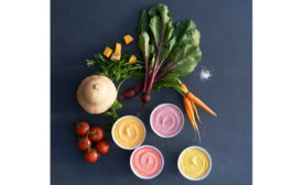 Blue Hill yogurt with vegetables
