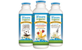 B'more Organic Icelandic yogurt smoothies