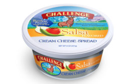 Challenge salsa flavored cream cheese