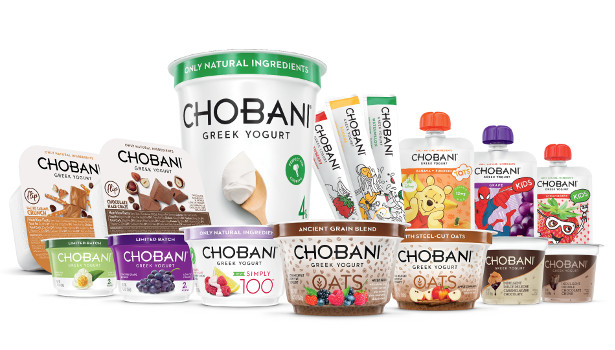 Chobani new 2015 product collage